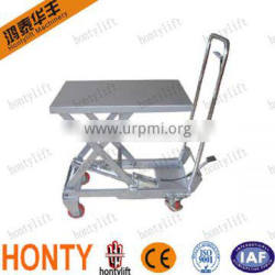Hot sell Movable Manual or Electric Motor pallet lifting equipment
