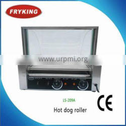Electric hot dog machine/ 9 rollers