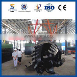 Large Capacity Sand Suction Dredger Machine Sales with New Technology