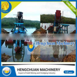 8-20 Inch Cutter Head River Cleaning Boat dredger