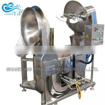 2018 new design commerical automatic chocolate flavored gas popcorn making machine