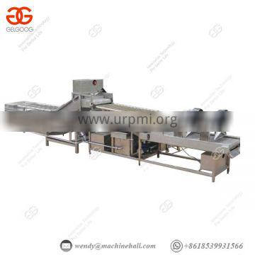 With Sprinkling Device Potato Cleaning Machine Iso 380v