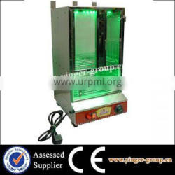 trolley for hot dog maker steamer machine warmer cart with CE