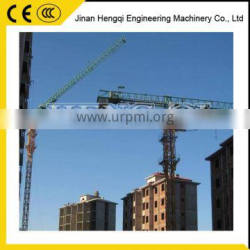 China supplier Section Flat top lifting tower crane