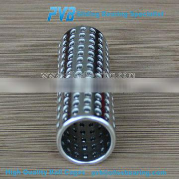 Ball Cages made of Aluminum with Safety Ring,Precision Guide Bushing Ball Cages,Ball Retainer