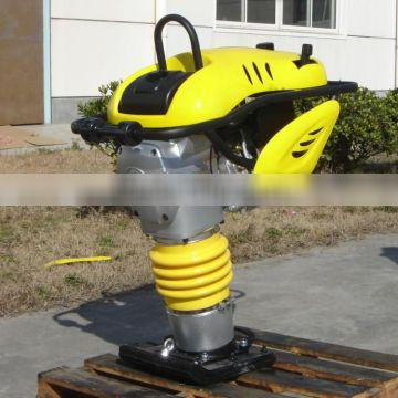 Lifting hook design tamping rammer with good apperance machine of high performance quality