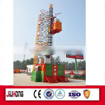 Construction Elevator With Safety Device
