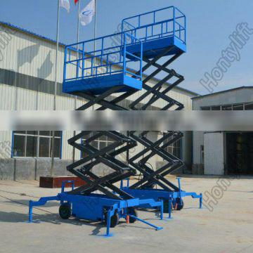 Warehouse scissor lift table 1 ton