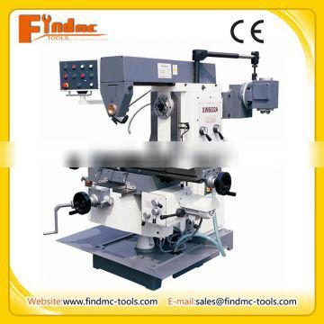 Universal knee type milling machine with vertical milling head XW6032A price