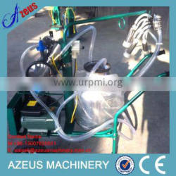 Double Bucket vacuum milking machine for cows,cattle,sheep,110v/220v