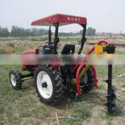 25hp 4WD mini front hydraulic tractor with different fram tools