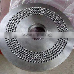 professional manufacture FLAT TEMPLATE DIE SPARE PARTS for pellet mill