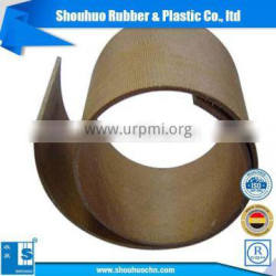 Made in china aluminium belt pulley flat belt pulley