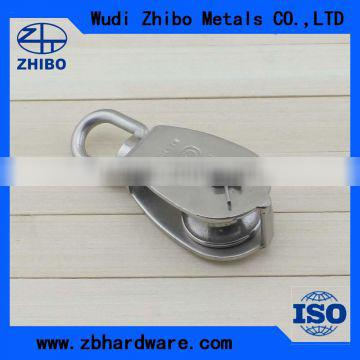Top Quality Stainless Steel AISI304/316 Lifting Pulley Blocks 25mm-100mm