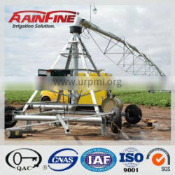 diesel galvanized steel farm line move irrigation sprinkler system