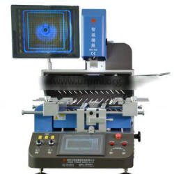Updated BGA machine WDS-650 auto phone motherboard repair machine for SMT SMD repairing