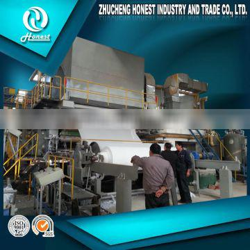 2016 2800mm Paper Recycling Machine Tissue Paper Making Equipment