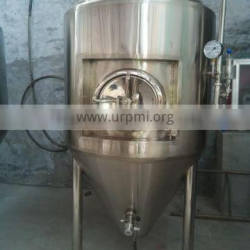 Shandong RJ 10hl conical dimple jacket fermenter tank ,beer factory brewery equipment