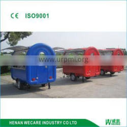 New design Mobile Commercial truck Concession Food BBQ truck