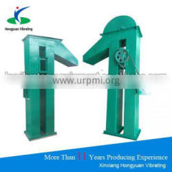 Large lifting capacity vertical hopper conveyor for agriculture