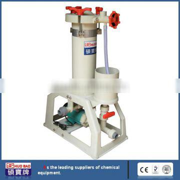 Latest technology PP Chemical Filter to small footprint