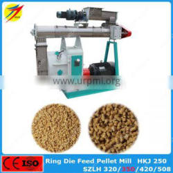 ISO guarantee ring die poultry feed equipment SZLH350