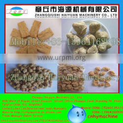 HAIYUAN High quality automatic Isolated soybean protein making machinery/soybean protein food production line/textured soybean