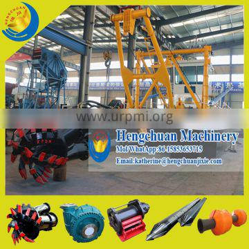 China Widely Used HCCSD-350(18/16 Inches) Cutter Suction Sand Dredging Barge for Canalization