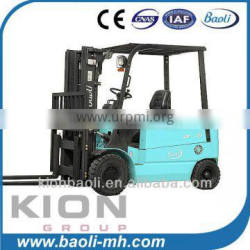 1.5t 2t 2.5t 3t AC small battery operated forklift