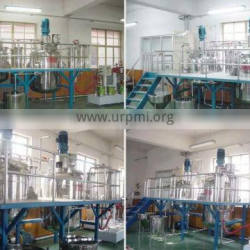 complete alkyd resin automatic plant, 100L-20Tons