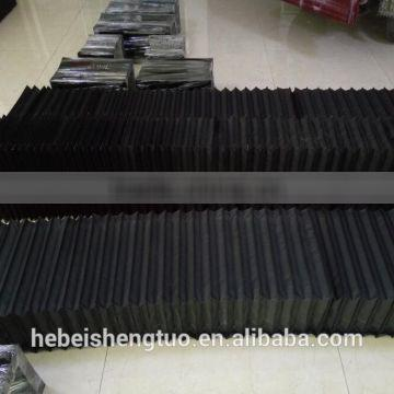 Any Size Retractable Shield Cover Accordion for Machines