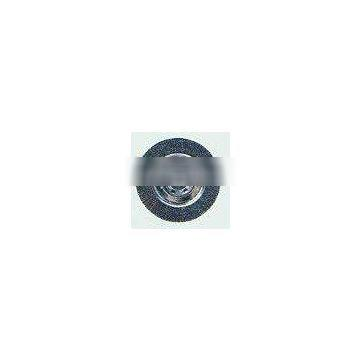 Crimped Wire Wheel Brushes for Bench Grinders-Carbon Steel
