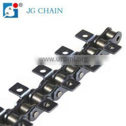 Power transmission drive single roller chains with k1 attachment
