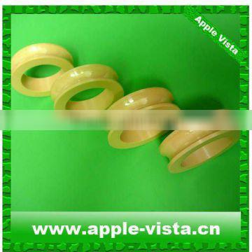 Zirconia guide pulleys/ceramic U grooved wire drawing pulley