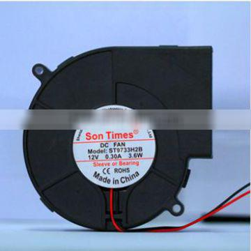 Multifunction high quality 97mm exhaust dc blower fan