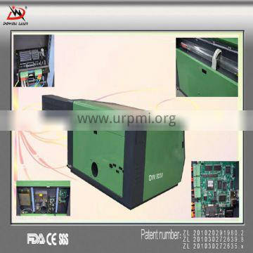 Popular Dowell CO2 desktop laser cutter/non-metal laser cutting machine/CO2 engraver high precision low price