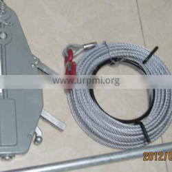 wire rope winch tirfor for boats useable for a variety of purposes