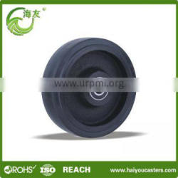 China supplier high quality qingdao 10 inch rubber wheel