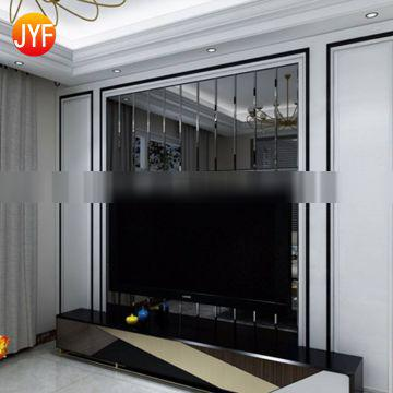 Stainless steel corner guard wall decorating trim
