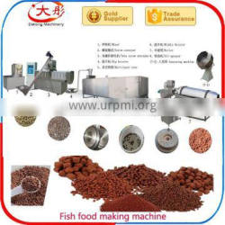 Plastic floating fish food pellet production equipment for good supplier