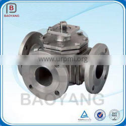 China manufacturing gravity casting aluminum material DN65 ball valve body