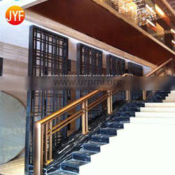 JFYY005 Wholesale Interior cheap laser cut screen stainless steel decorative restaurant decorative metal screen patterns