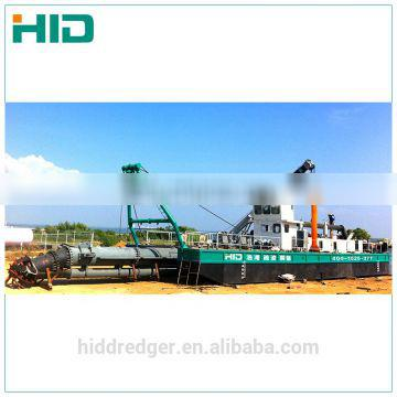 self propelled cutter suction dredger Good quality 12 inch mini sand suction dredger HID300 for sale