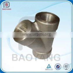 Gold Supplier Of 45 Degree Y Branch Lateral Carbon Steel Pipe Fitting Tee