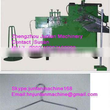 automatic machine for clothes line hanger hooks