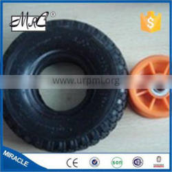 MRC high quality 10 Inch small pneumatic wagon tyre rubber wheelbarrow wheel tire 3.00-4