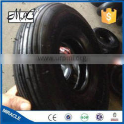 CHINA 10 '' small pneumatic wagon tire rubber wheelbarrow wheel / wheel tyre 3.00-4