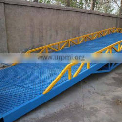 7LYQ Shandong SevenLift warehouse hydraulic forklift movable container ramp