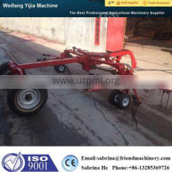 CE approved tractor pasture rotary rake made in China