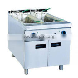 Vertical Kitchen Double Basket Chicken Deep Fryer